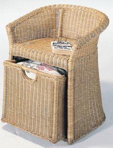 Wicker Hamper Chair Click picture for details Bamboo Weaving, Basket Weaving, Wicker Hamper, Laundry Hamper, Rustic Interiors, Furniture Decor, Rattan, Home Goods, Home Improvement