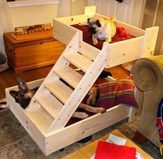 pallet-dog-bunk-bed-with-stylish-stairs.jpg 943×926 pixeles