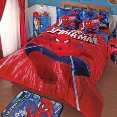 20 best Spiderman en tu recámara images on Pinterest | Charm quilt
