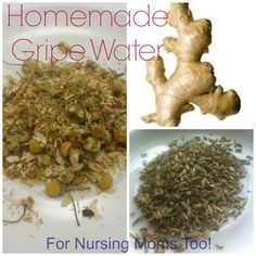 DIY Homemade Gripe Water - For baby or breastfeeding mom