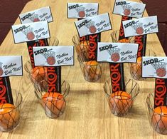 Basketball Treat Bag Toppers  Skor...Nothing But by PaperAndTaigh