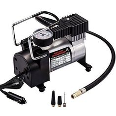 Shop for Teetox Car Air Pump, Premium Tyre Inflator Dc Portable Auto Air Compressor With Pressure Gauge 100 Psi And Adapter For Car/bicycle/ball. Starting from Compare live & historic auto accessory prices. Tire Air Compressor, Best Portable Air Compressor, Portable Air Pump, Car Gadgets, Car Accessories, Bicycle, Digital, Air Compressors, Wet
