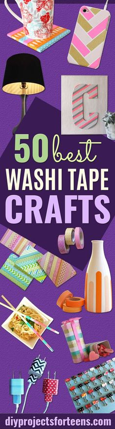 Looking for some awesome but easy DIY ideas? Have you heard of washi tape crafts? You may have just found your perfect DIY projects for the weekend. Not so long ago, washi tape was just some kind of a tape - a little fun to use for your notebooks or school projects. But oh my golly, how washi