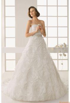 Satin Chiffon Wedding Dresses