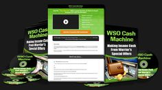 WSO Cash Machine PLR Review – Proven Methods With Private Label Rights Package To Make Insane Cash From Warriors Special Offers That You Can Brand, Edit and Resell For 100% Profits