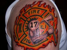 A List of Amazing Firefighter Tattoos Ideas