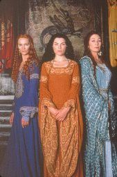 The Mists of Avalon - featuring the pagan, female point-of-view of Arthurian legend, love this film adaptation. cmrulo