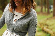 Elskling cropped cardigan pattern