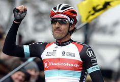 A winning Fabian Cancellara (RadioShack - Leopard)