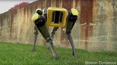 Meet Boston Dynamics streamlined SpotMini