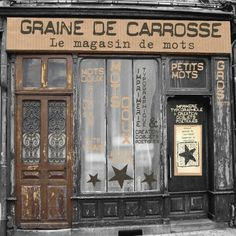 font graine de carosse magasin de mot, printer typography poetic object 603321_445032675552612_1888798010_n