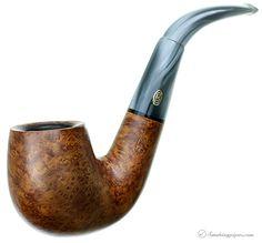 Estate Tobacco Pipes: English Estate GBD Varichrome Smooth Bent Billiard (9456) (pre-1980) at Smokingpipes.com
