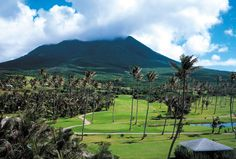 Nevis - this is pretty close to our view when we stayed here in 1994.