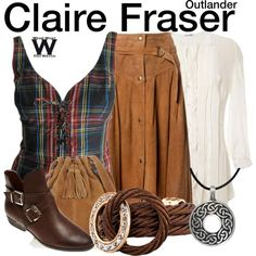 Inspired by Caitriona Balfe as Claire Fraser on Outlander. this could work for me Tv Show Outfits, Claire Fraser, Casual Cosplay, Costume Shop, Cute Skirts, Character Outfits, Fashion Beauty, Style Inspiration, Fashion Outfits