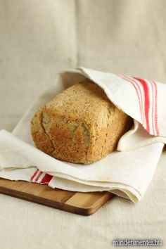 Nóri's ingenious cooking: My best gluten-free, whole grain bread, ever! Dairy Free Eggs, Gluten Free Grains, Foods With Gluten, Egg Free, Gluten Free Pastry, Gluten Free Baking, Delicious Vegan Recipes, Raw Food Recipes, Healthy Recipes