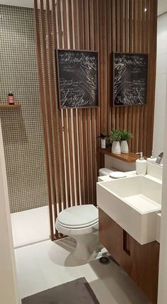 Online shopping from a great selection at Home Store. Bathroom Spa, Laundry In Bathroom, Modern Bathroom, Small Bathroom, Bathroom Interior Design, Interior Decorating, Toilet Design, Bathroom Inspiration, Home Remodeling