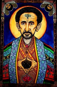 """""""Spiritual power is the eternal guide, in this life and the life after, for man ranks supreme among all creatures. Led forward by spiritual power, man can reach the summit destined for him by the Great Creator."""" -Haile Selassie I Rasta Art, Rasta Lion, Rastafari Art, Haile Selassie, African Royalty, Vintage Black Glamour, Great Warriors, Lion Of Judah, King Of Kings"""