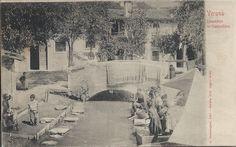 Verona - Lavandaie in Campofiore primi 900