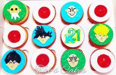 Dragon Ball Z Cupcakes