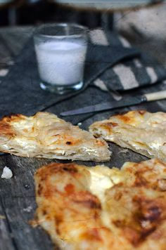 Burek, two ways (He Needs Food).. Last year, No matter where I was.. Belgrade, Croatia, Montenegro.. there was always Burek! Its so yummy.. can't wait to try and make this!