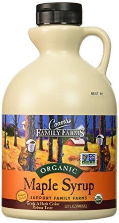 Family Farms Organic Maple Syrup - Case Of 6 - 32 Fl Oz. Coombs Family Farms Organic Maple Syrup - Case Of 6 - 32 Fl Oz.Coombs Family Farms Organic Maple Syrup - Case Of 6 - 32 Fl Oz. Grade B Maple Syrup, Maple Syrup Grades, Best Maple Syrup, Organic Maple Syrup, Gourmet Recipes, Baking Recipes, Waffle Recipes, Healthy Recipes, Clean Eating Grocery List