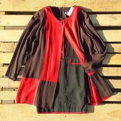 Maxi maglia vintage rossa e nera prezzo 30 euro, scontata del 30% = 21 euro Vestitino nero con profili rossi prezzo 38 euro, scontato del 30% = 26.60 euro! #woodstockzambon   #vintage   #vicenza   #shop   #shoppingonline