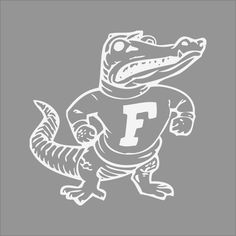 Florida Gators Wallpaper, Florida Gators Logo, Gator Logo, Florida Gators Football, Gator Football, Monogram Stickers, Car Stickers, Wood Burning Stencils, Sports Logo
