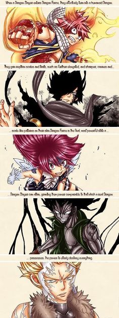 Fairy Tail - Dragon Slayers (Dragon Force): Natsu, Rogue, Wendy, Gajeel, and Sting Fairy Tail Ships, Fairy Tail Love, Manga Anime, Anime Art, Fairytail, Gruvia, Fairy Tail Dragon Slayer, Fairy Tail Dragon Force, Natsu Dragon Force