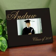 $24.98 Personalized Class Of Graduation Printed Frame