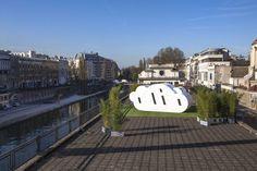 mobile cloud hotel le nuage offers a dream city escape