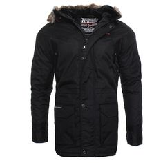 Geographical norway atlas herren winterjacke jacke parka