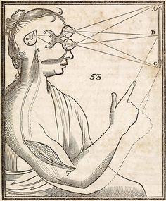 Stereo Vision according to Rene Descartes