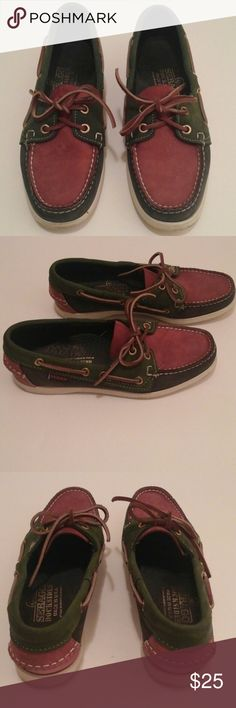 00ebbf5306 Shop Women s Sebago Dockside size Flats   Loafers at a discounted price at  Poshmark. Description  Maroon
