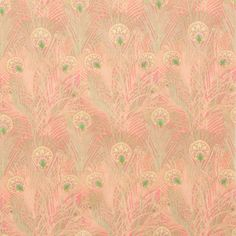 Alexander Henry House Designer - Lake Hollywood Cotton Lawn - Regent Peacock Lawn in Pink