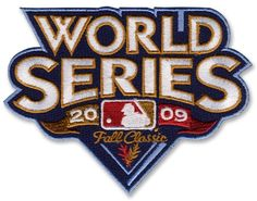 2009 World Series MLB Baseball Jersey Sleeve Patch - New York Yankees over Philadelphia Phillies