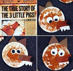 The True Story of the 3 Little Pigs!!