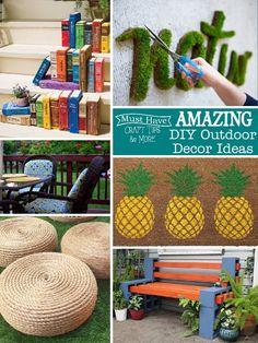 Amazing Diy Outdoor Decor Ideas