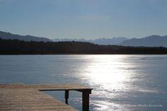 Der See unter dem Eis 24-6509 #Landschaft #See