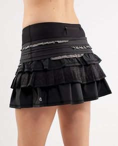 Lulu Lemon Back On Track Skirt -- for tennis