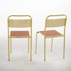 PETITE FRITURE - Chaise d'écolier (lot de 2) Gio, Delphine Miquel | La Redoute