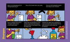 Shampoo, leuk proefje voor kinderen op de basisschool!