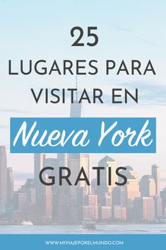 25 lugares para visitar en Nueva York gratis [Guía actualizada a If you are planning a trip to the United States, in this complete article we show you 25 places to visit in New York. New York Bucket List, New York Tours, Hotel Trivago, New York City Travel, Canada, Travel Tips, Places To Go, Tourism, Road Trip