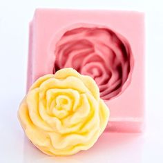 """""""New"""" Lovely Rose Silicone Mold"""
