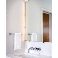 Tech Lighting Gia Mirror Kit Finish: Satin Nickel
