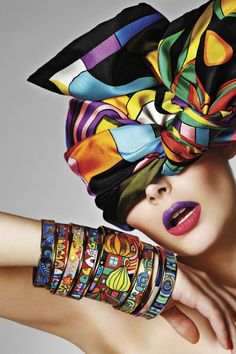 Nikole Luna | Oleg Zernov | L'Officiel Latvia July 2012 | 'In Living Color'