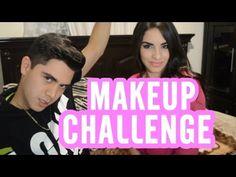 MAKE UP CHALLENGE ft.Kimbely Loaiza | Juan de Dios Pantoja