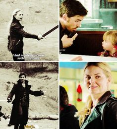 I actually loved this part when Emma sees Hook playing with ash's baby