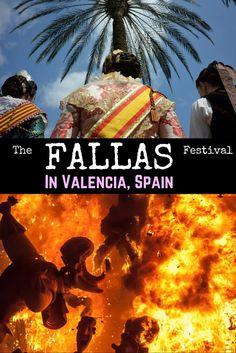 Las Fallas: Spain's Most Elaborate, Best-Kept Secret  #LasFallas #Valencia #Spain #FireFestival Spain Valencia Tourism