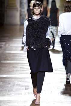 Dries Van Noten Fall 2013 Ready-to-Wear Fashion Show - Daiane Conterato (Elite)
