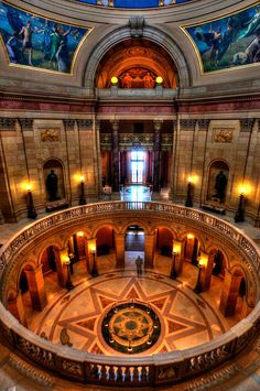 #Minnesota #State #Capitol, St Paul by Amanda Stadther. http://amanda-stadther.artistwebsites.com/